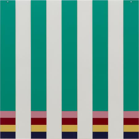 Daniel Buren, On Transparency: Situated Mylars II, 2017-2019