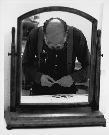 Allen Ginsberg (Photo © Sidney B. Felsen)