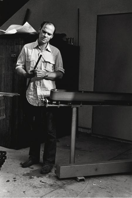 Michael Heizer (Photo © Sidney B. Felsen)