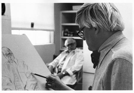 David Hockney (Photo © Sidney B. Felsen)