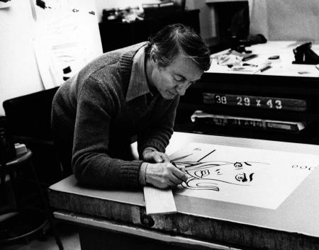 Roy Lichtenstein (Photo © Sidney B. Felsen)