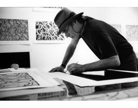 Brice Marden (Photo © Sidney B. Felsen)