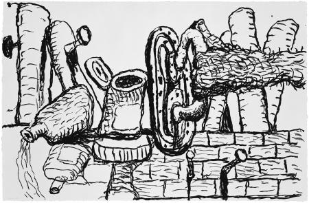 Philip Guston, Remains, 1981