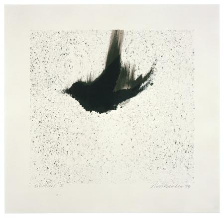 Ross Bleckner, Single Bird , 1999
