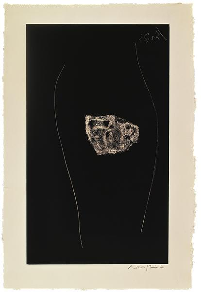 Robert Motherwell, Soot-Black Stone, #5