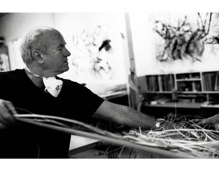 James Rosenquist (Photo © Sidney B. Felsen)
