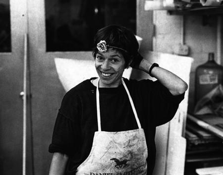 Susan Rothenberg (Photo © Sidney B. Felsen)