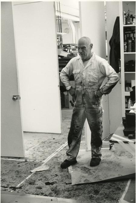 Richard Serra (Photo © Sidney B. Felsen)