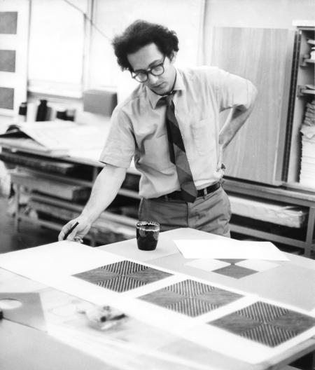 Frank Stella (Photo © Sidney B. Felsen)