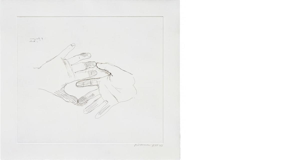 "Bruce Nauman, Untitled (from ""Fingers And Holes""), 1994"