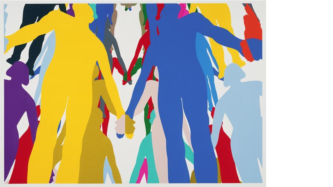 Jonathan Borofsky, Human Structure 2, 2010
