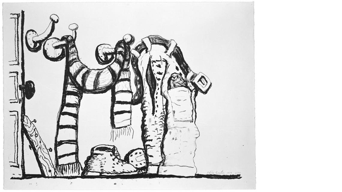 Philip Guston, Studio Forms, 1981