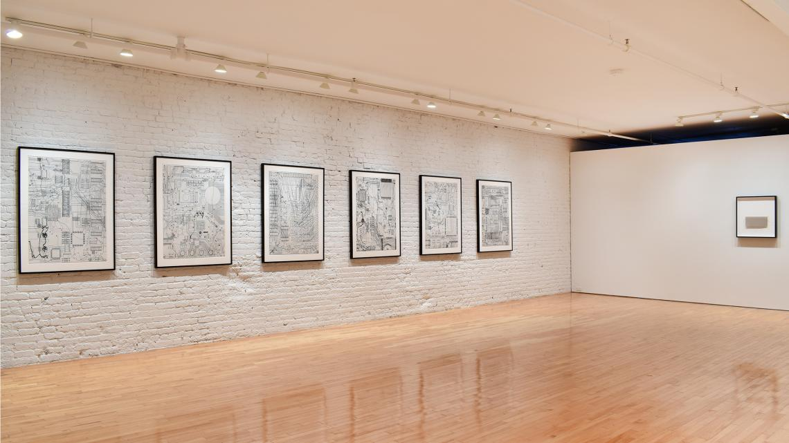 Analia Saban-Line to Thread to WIre to Cable to Line 2021 (installation view)