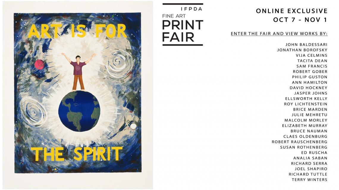 IFPDA Fine Art Print Fair 2020: Online Exclusive