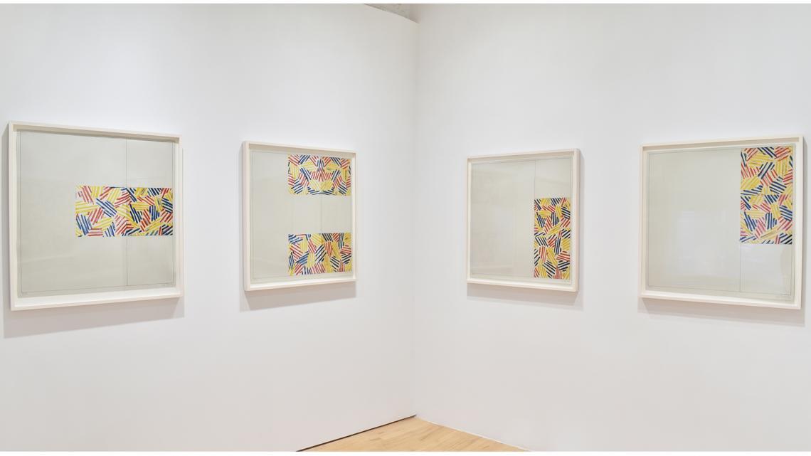 Jasper Johns, 6 Lithographs (after 'Untitled 1975') 1976