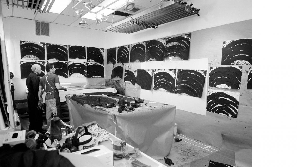 Richard Serra: Selected Works
