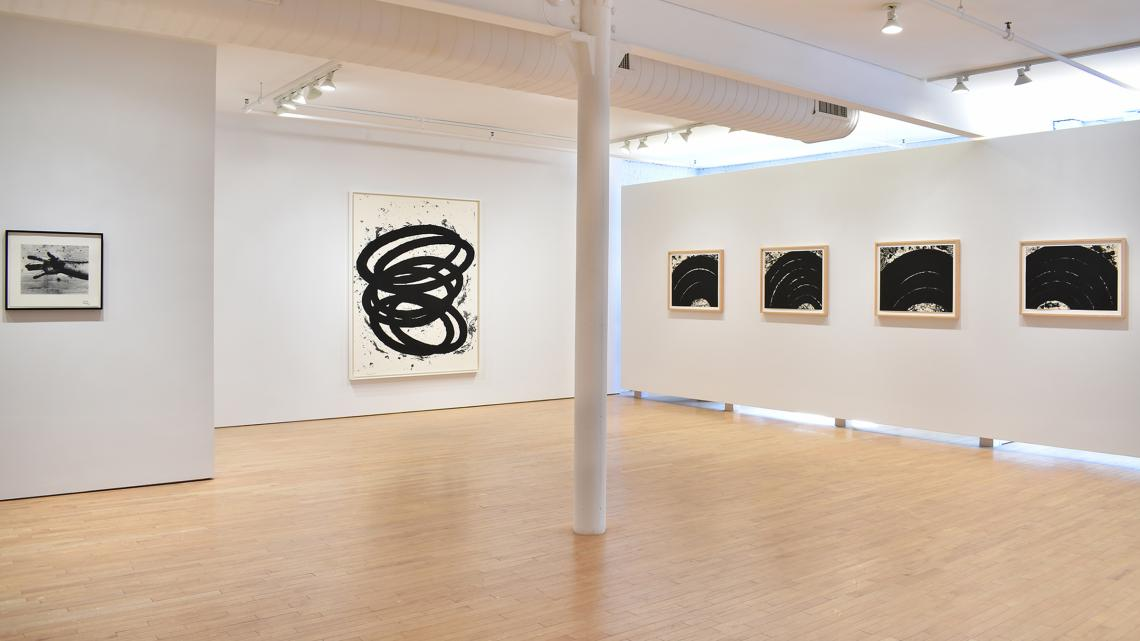 Richard Serra: Selected Works installation view