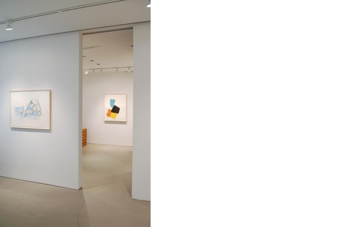 Left to right: Frank Gehry, Guggenheim Museum Bilbao, 2009; Joel Shapiro, Boat, Bird, Mother and Child (i), 2009
