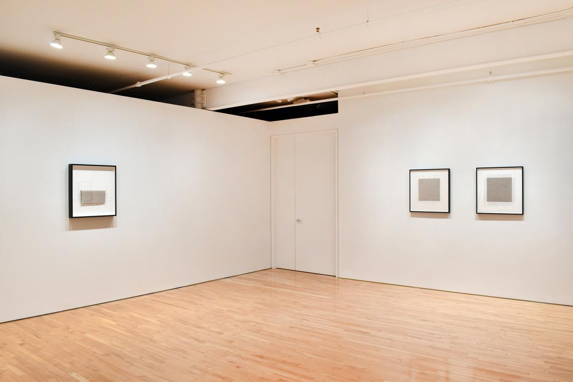 Analia Saban, Line to Thread to Wire to Cable to Line 2021 (installation view)