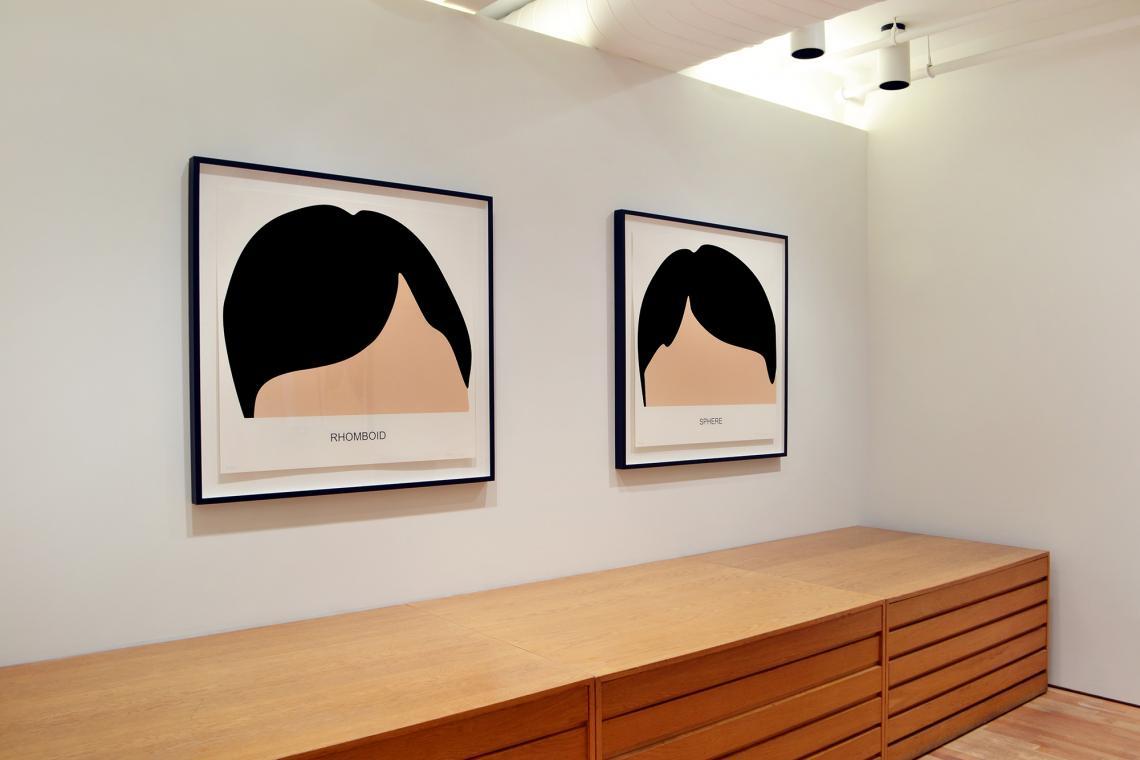 John Baldessari, Rhomboid, 2016; Sphere, 2016