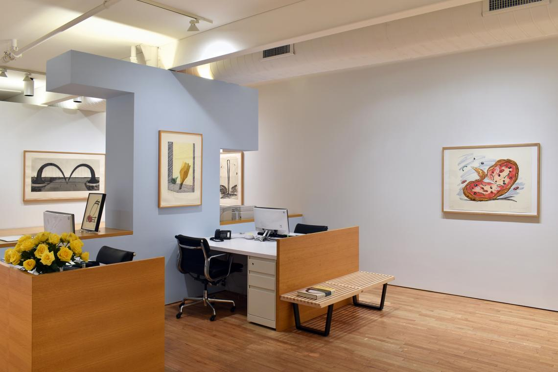 Claes Oldenburg, A Survey of Print and Sculpture Editions 2019 (installation view)