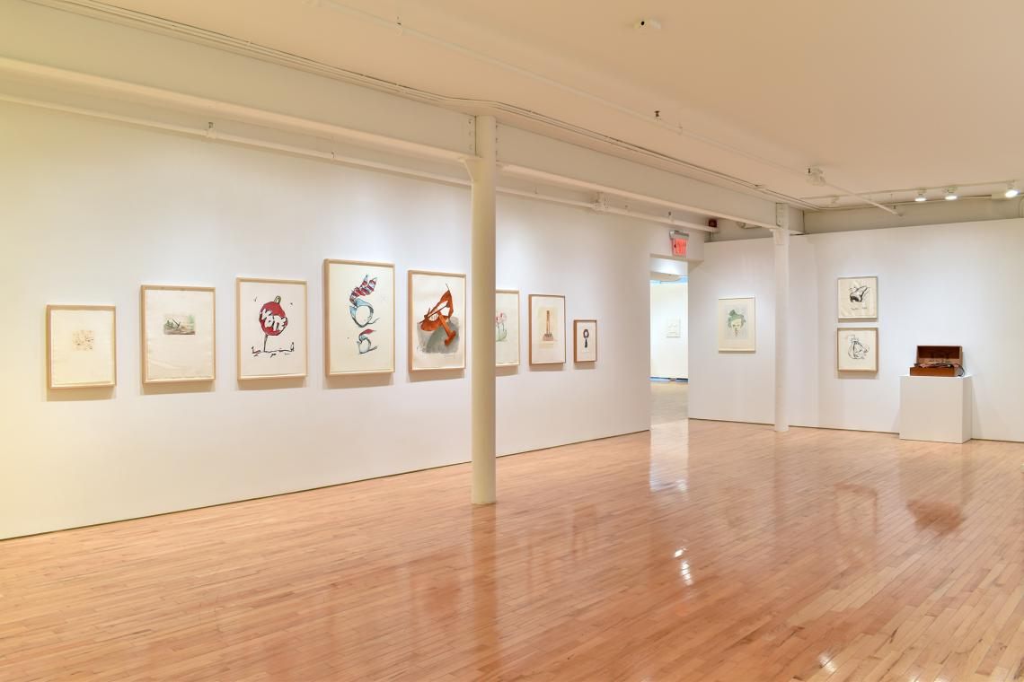 Claes Oldenburg, Survey of Print and Sculpture Editions 2019 (installation view)
