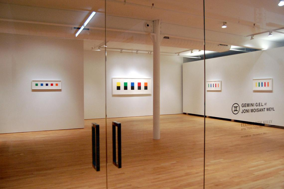 Ellsworth Kelly, Spectral Colors, 2012