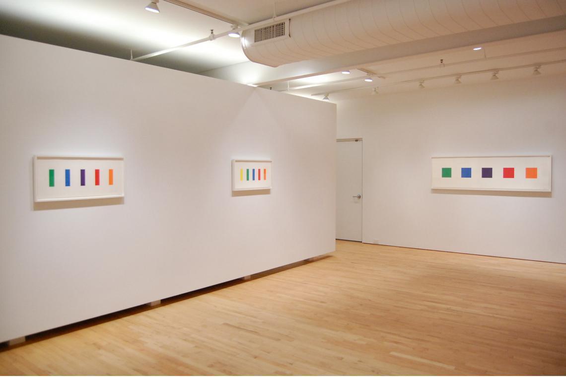 Ellsworth Kelly: Spectral Colors, 2012