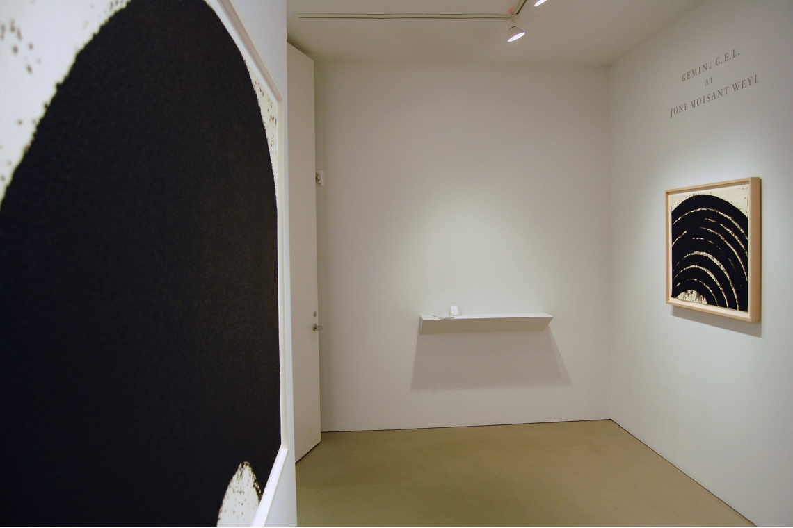 Left to Right: Untitled, 2008; Paths & Edges #5, 2007.