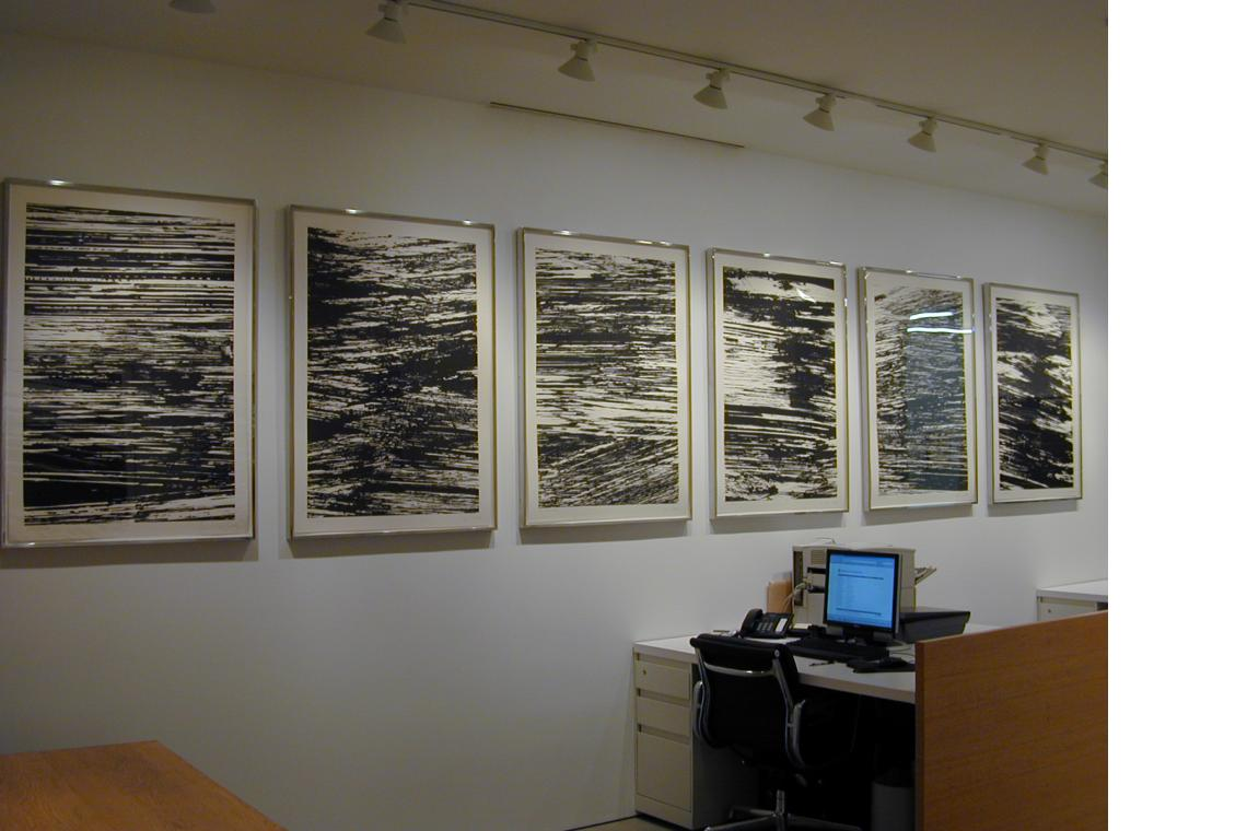 Left to Right: The Thames, The Seine, The Mississippi, The Amazon, The Nile and The Hudson from States of the River 2005