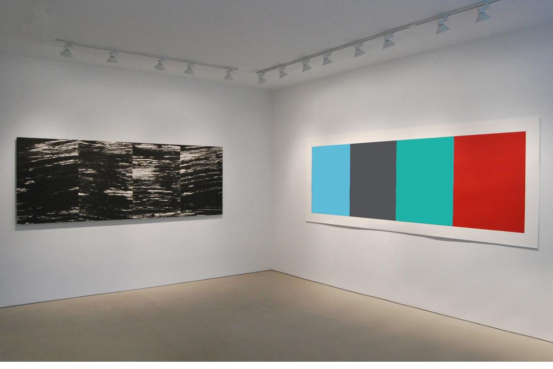 The River, 2003; Blue Gray Green Red, 2008