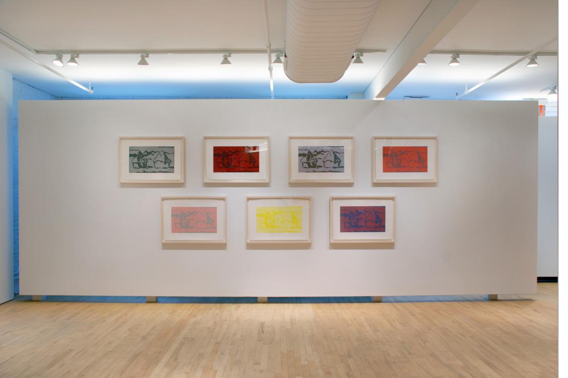 Roy Lichtenstein, Haystack Series, 1969