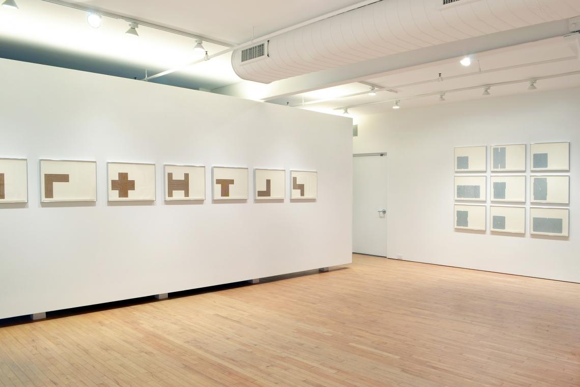 Frank Stella, Copper Series, 1970; Aluminum Series, 1970
