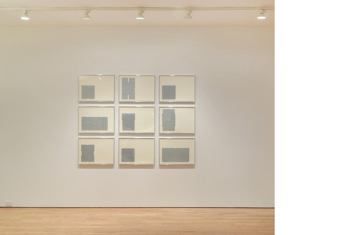 Frank Stella, Aluminum Series, 1970