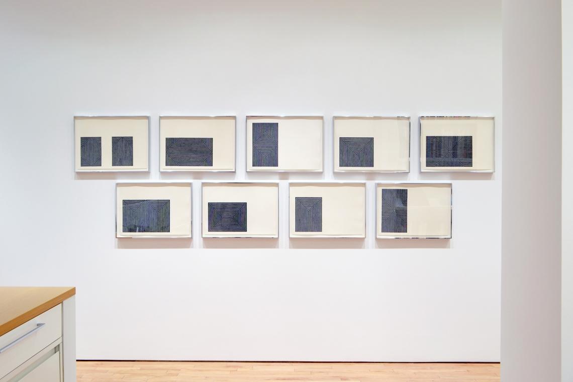 Frank Stella, Black Series I, 1967