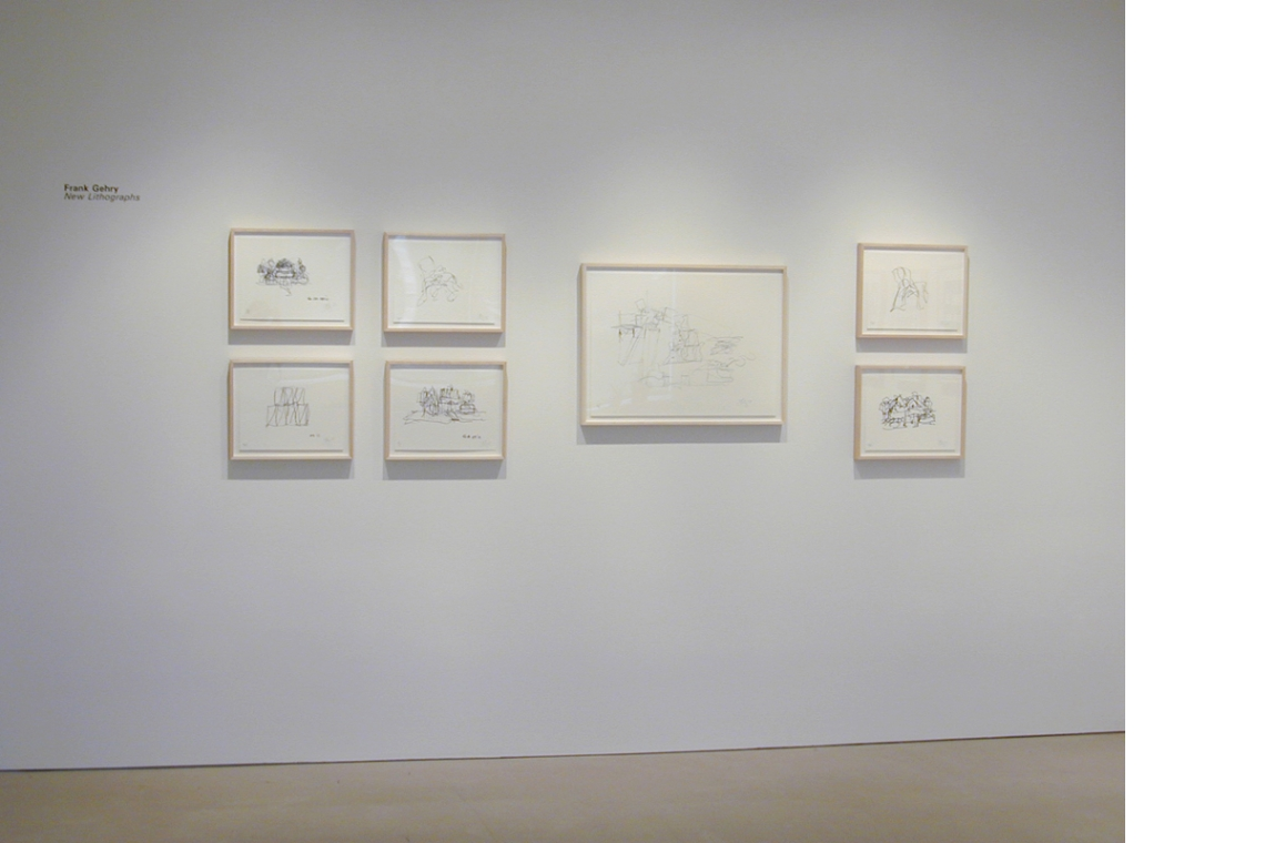 Frank Gehry New Lithographs 2007