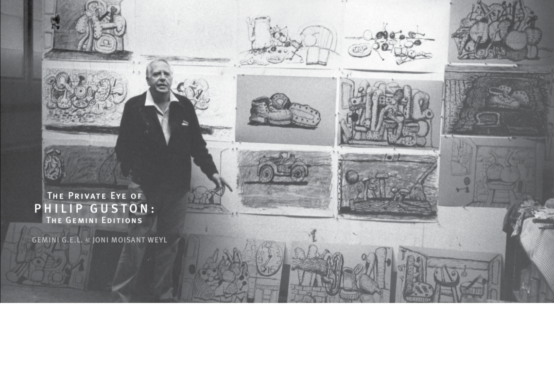 The Private Eye of Philip Guston Announcement Card (2008)