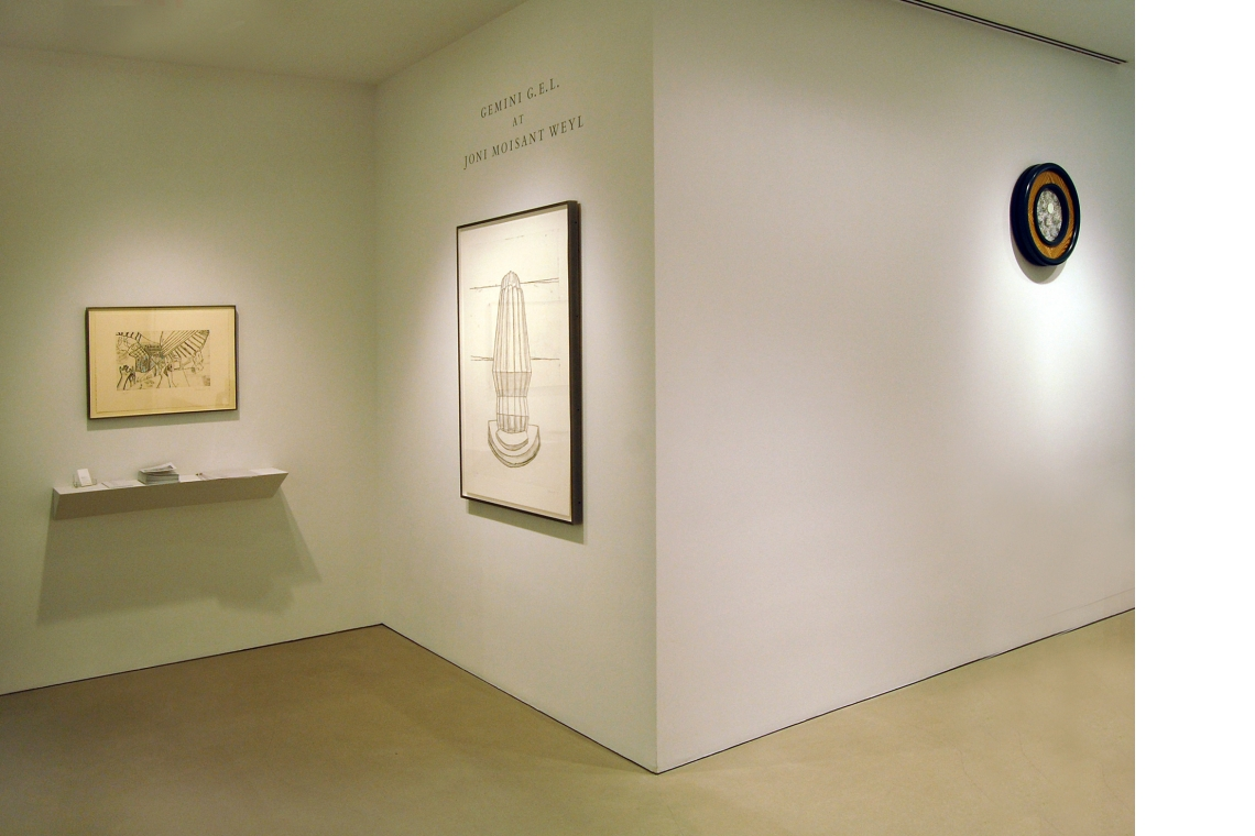 Left to Right: Richard Artschwager – The Discovery of Left and Right, 2008; The Discovery of Up and Down, 2008; Port, 1991.