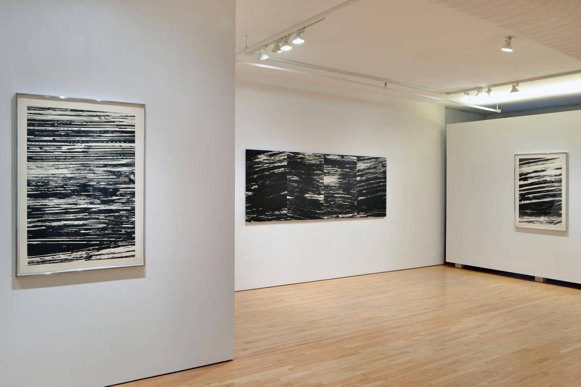 Ellsworth Kelly, The Thames, 2005; The River, 2003; The Rhine, 2005.