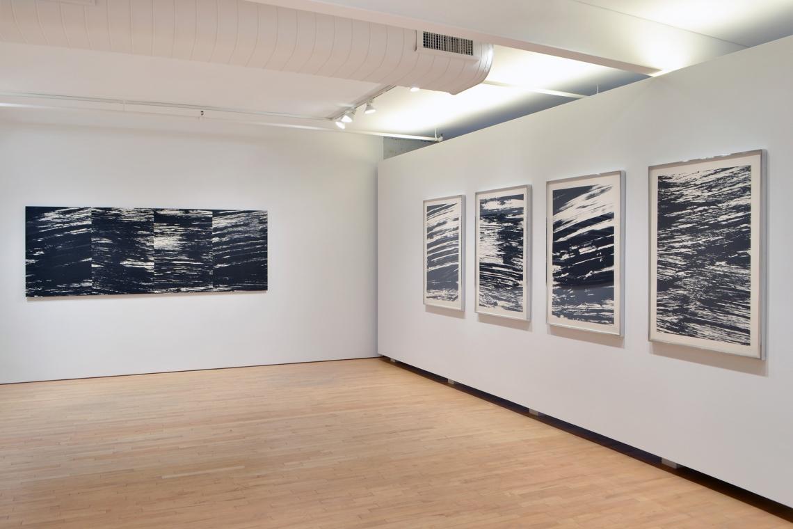 Ellsworth Kelly, The River, 2003; The Rhine, 2005; The Amazon, 2005; TheYangtze, 2005; The Seine, 2005.