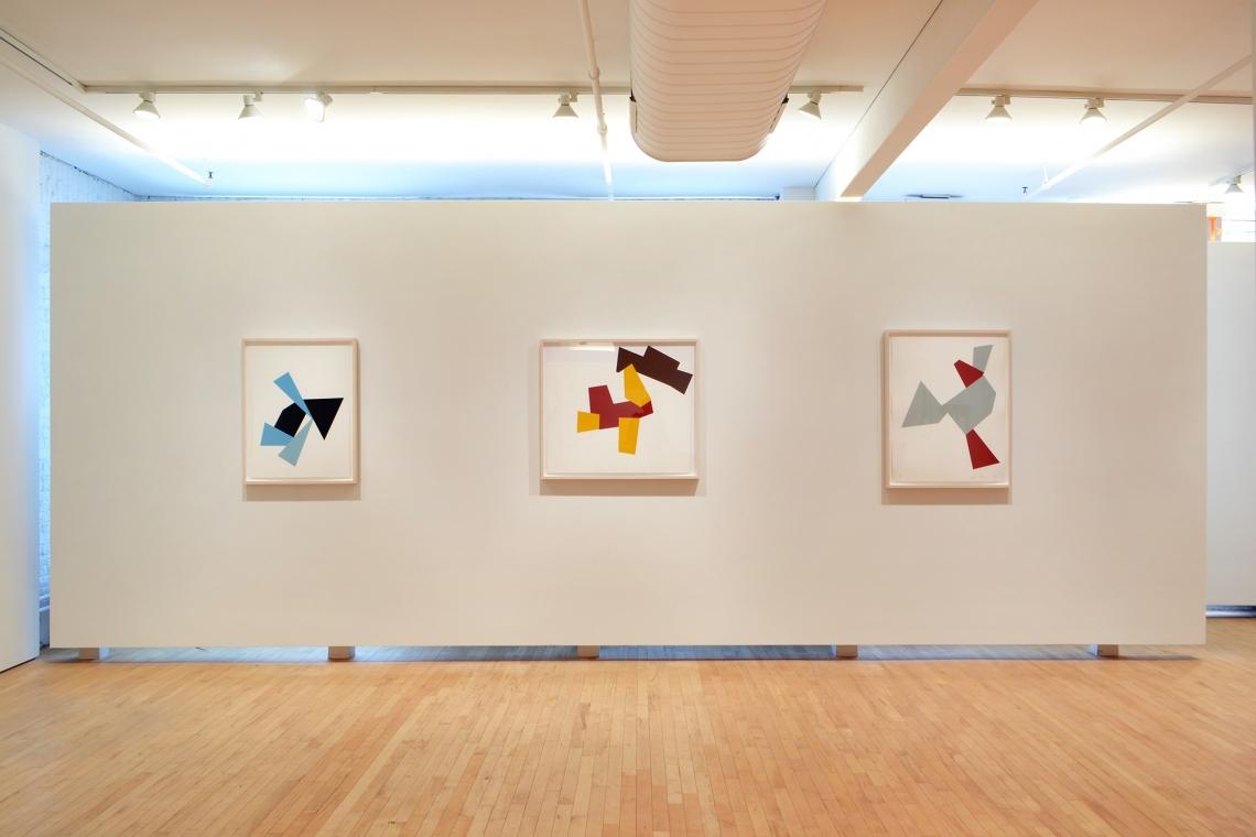 Joel Shapiro, Boat, Bird, Mother and Child (f), 2009; Boat, Bird, Mother and Child (g), 2009; Boat, Bird, Mother and Child (a), 2009.