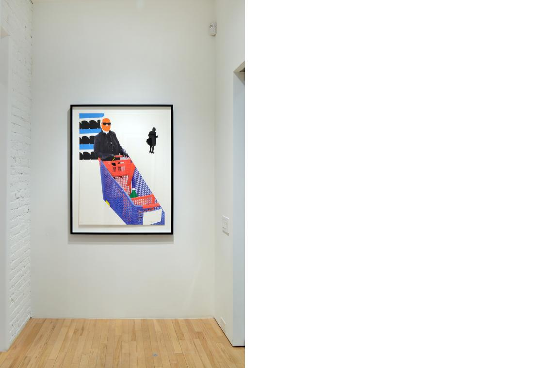 John Baldessari, Karl Lagerfeld, 2015