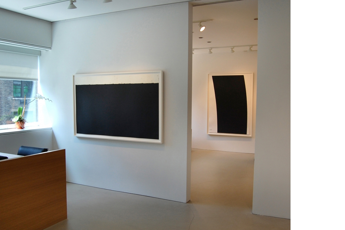 Left to Right: Level I, 2008; Trajectory #1, 2004.