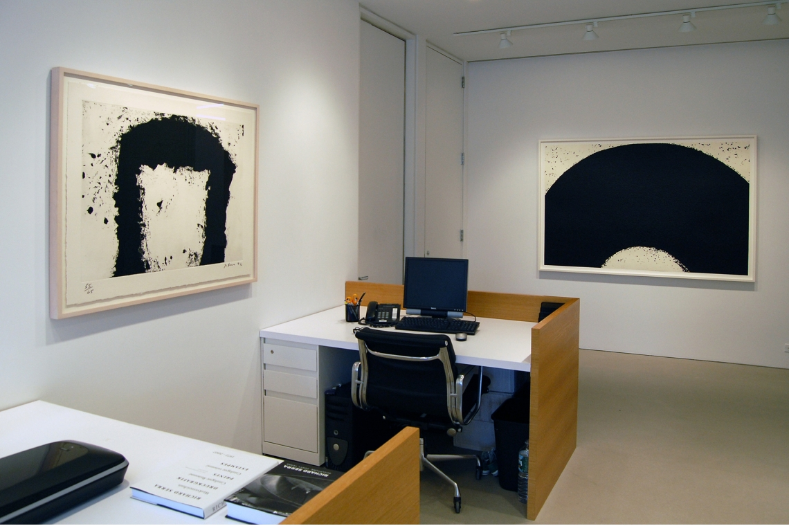 Left to Right: Jump Start, 1996; Untitled, 2008.