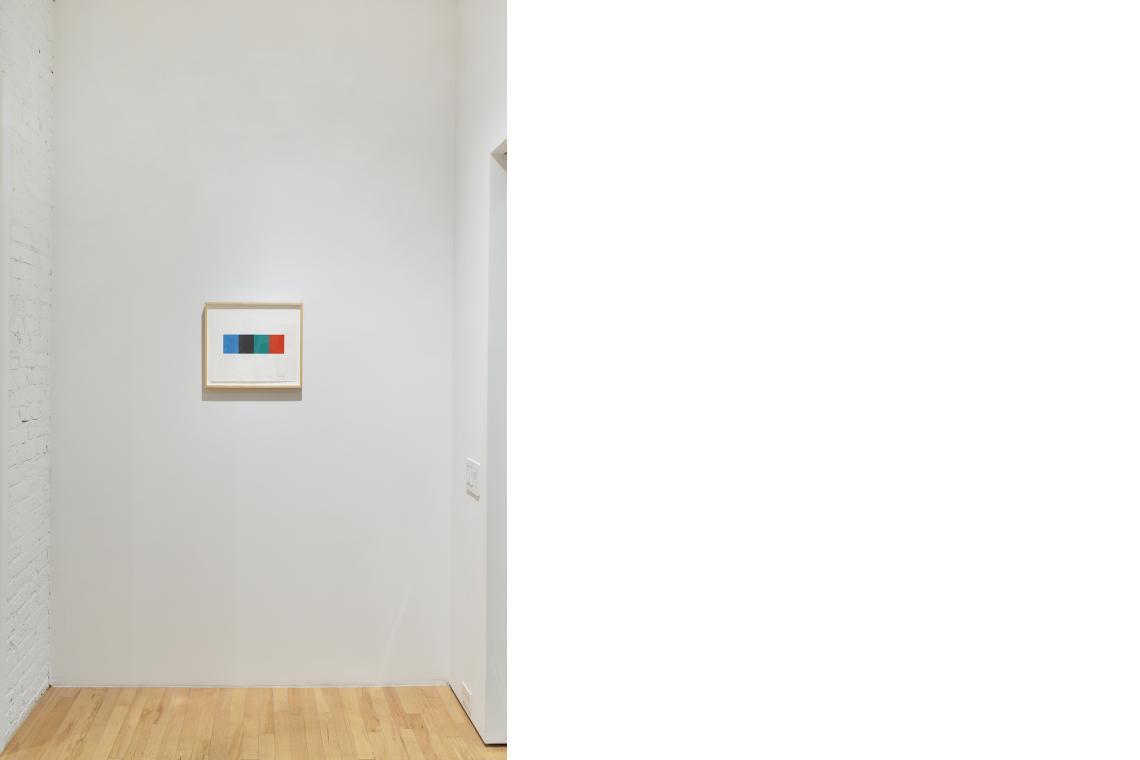 Ellsworth Kelly, Blue Gray Green Red, 2008.