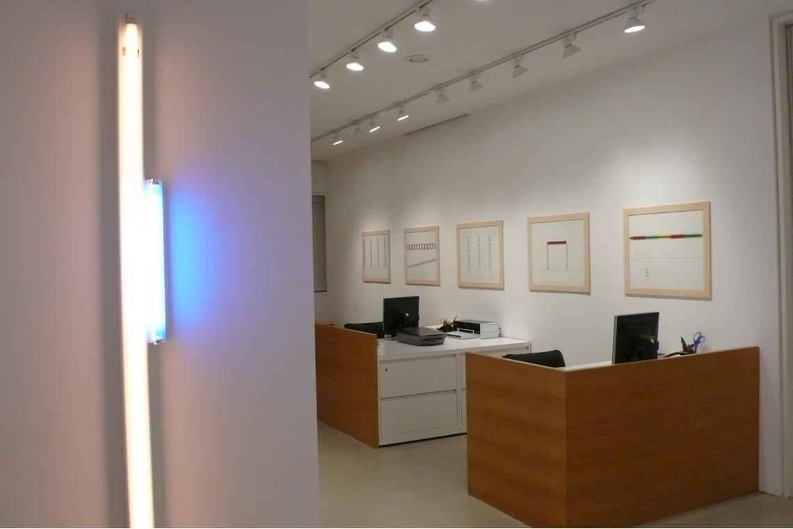 Left to Right: Untitled 1964-76 1987, Projects 1963-1995 (5 of 10) 1997
