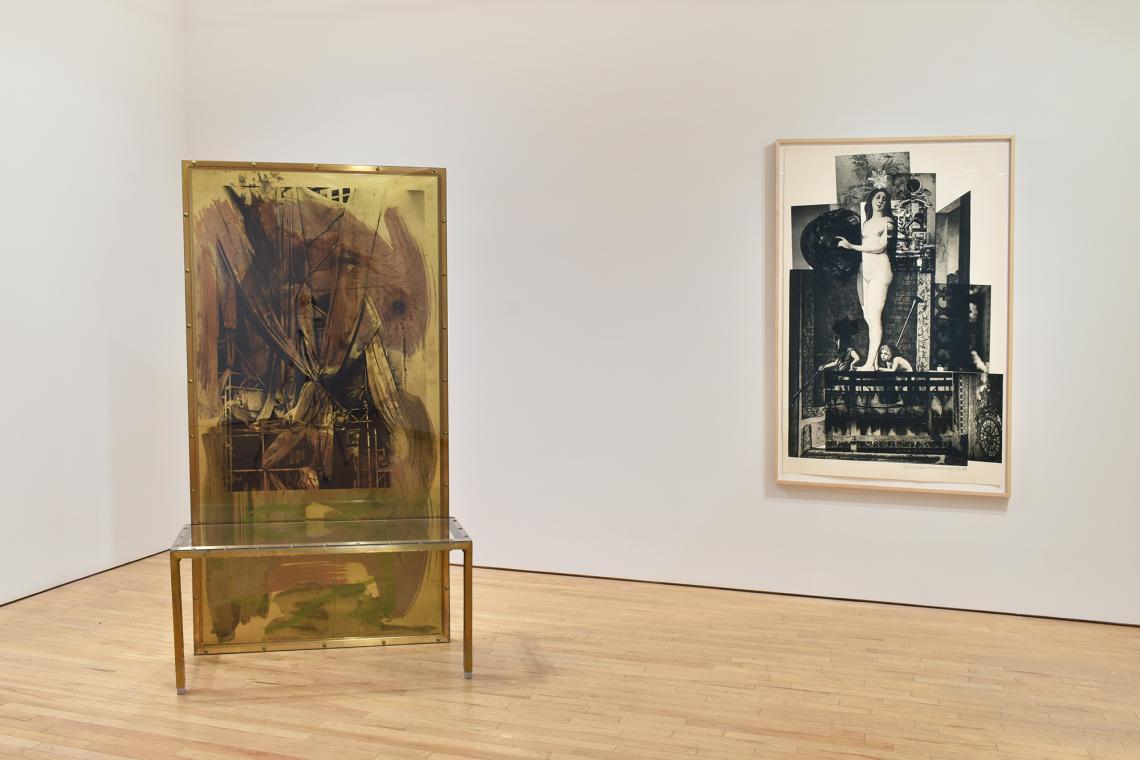 Robert Rauschenberg, Borealis Shares II, 1990; Bellini #4, 1988.