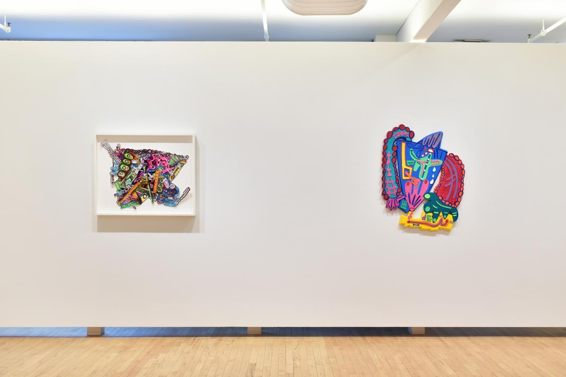 Elizabeth Murray, St. Marks (from the Metropolitan Series), 2005; Messin' Around from Sweetzer Suite, 2006