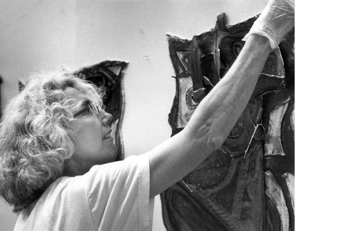 Elizabeth Murray (Photo © Sidney B. Felsen)