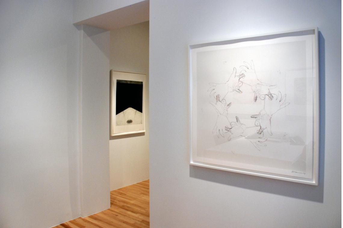 Floor Drain, 1985; Untitled, 1994